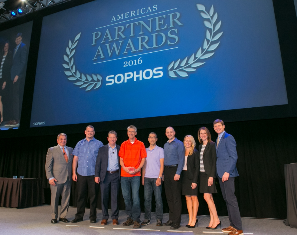 Sophos Partner Awards Group photo