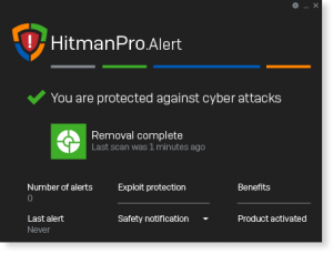 HitmanPro Alert 30 Day Trial