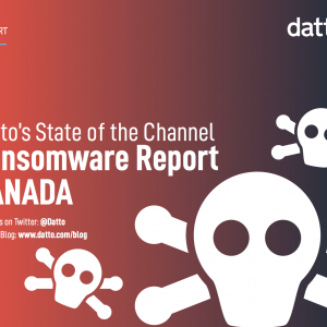 Datto's State of the Channel Ransomware Report CANADA icon